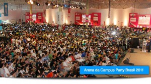 Revista DUE marca presença no Campus Party Brasil 2012