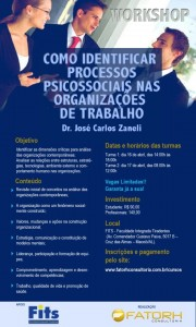 Workshop com expoente da Psicologia Organizacional chega a Maceió