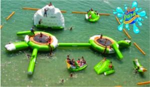 Primeiro parque aquático inflável do Norte-Nordeste chega a Maceió