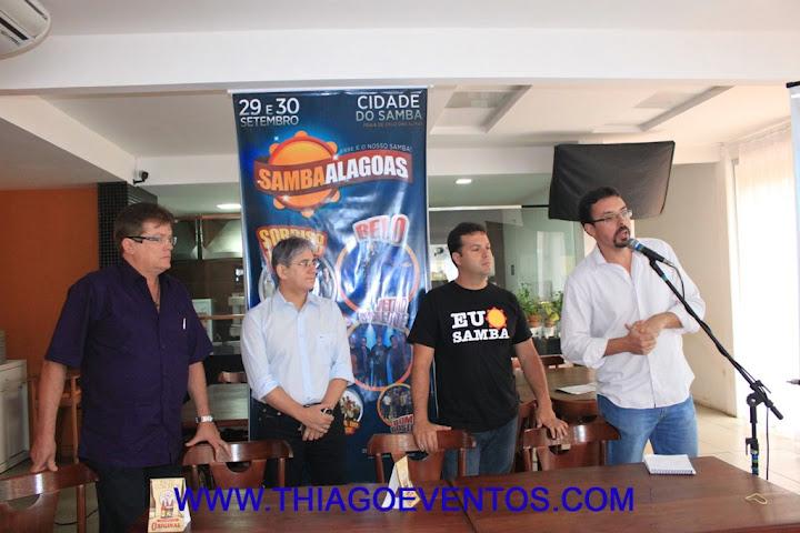 Samba Alagoas é lançado para Imprensa e Revista DUE marca presença