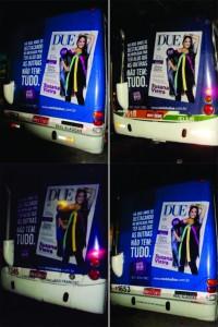 Promoção Backbus da Revista DUE
