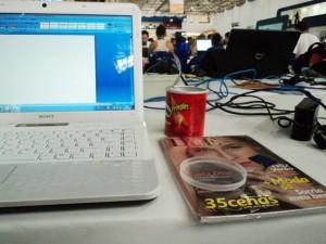 Novidades da nossa enviada especial ao Campus Party 2012
