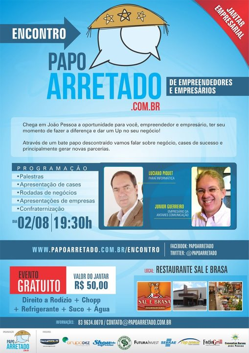 João Pessoa ganha jantar empresarial e promete gerar muitas parcerias