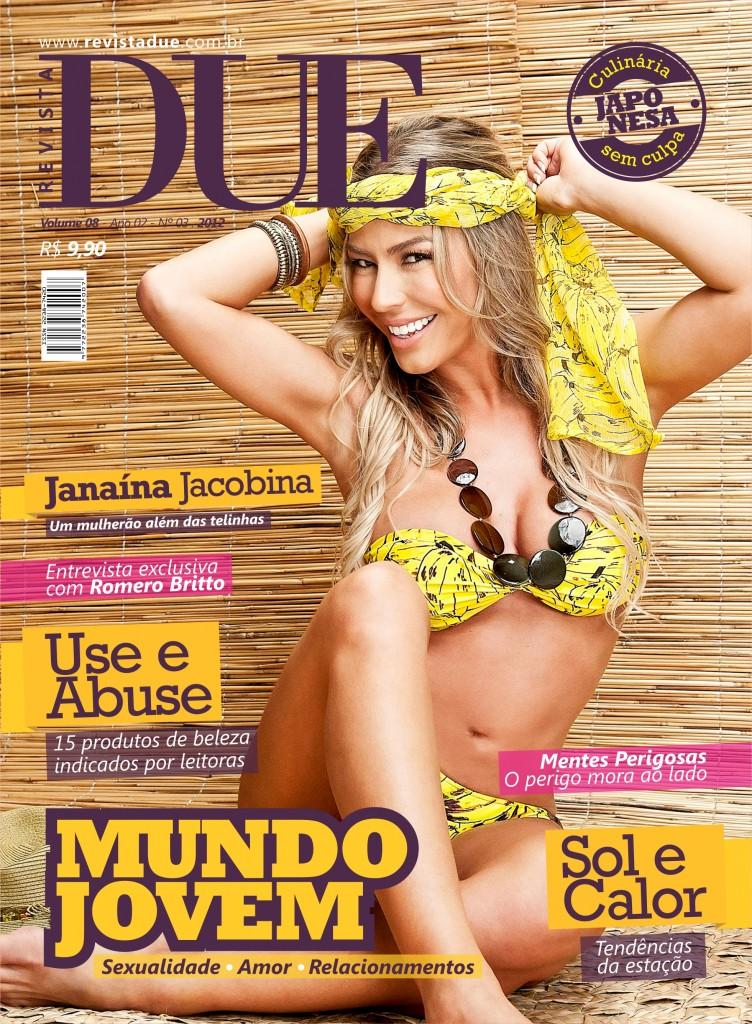 8ª Edição da Revista DUE traz entrevista exclusiva com Romero Britto