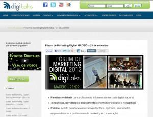 Digitalks volta a Maceió para o Fórum de Marketing Digital