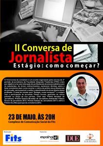 """II Conversa de Jornalista apresenta: """"Estágio: como começar?"""" por Thiago Correia"""